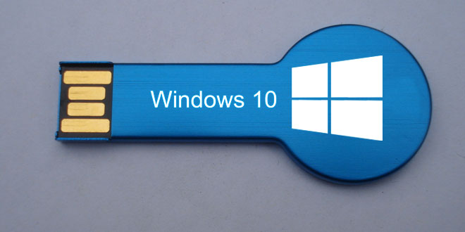 installare windows 10 da chiavetta usb