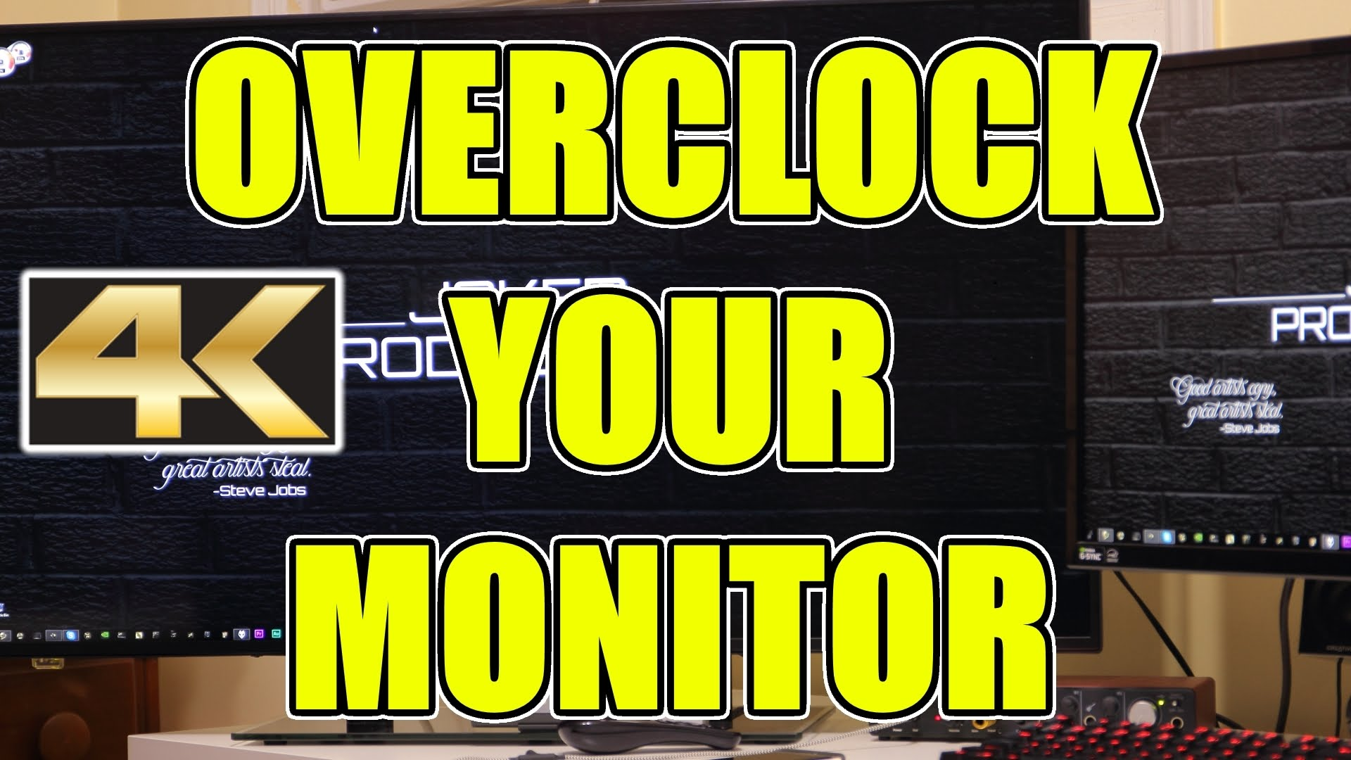 Overclock monitor, ecco come fare