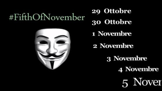 Anonymous attacca il governo italiano