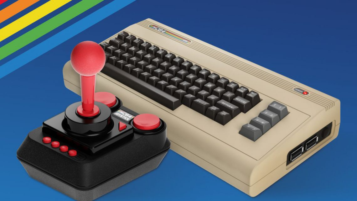 Commodore 64 mini: torna a dicembre 2019